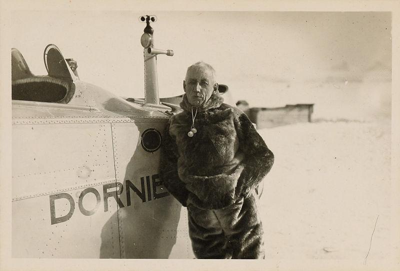 Roald Amundsen Svalbard 1925