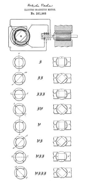 tesla electro motor